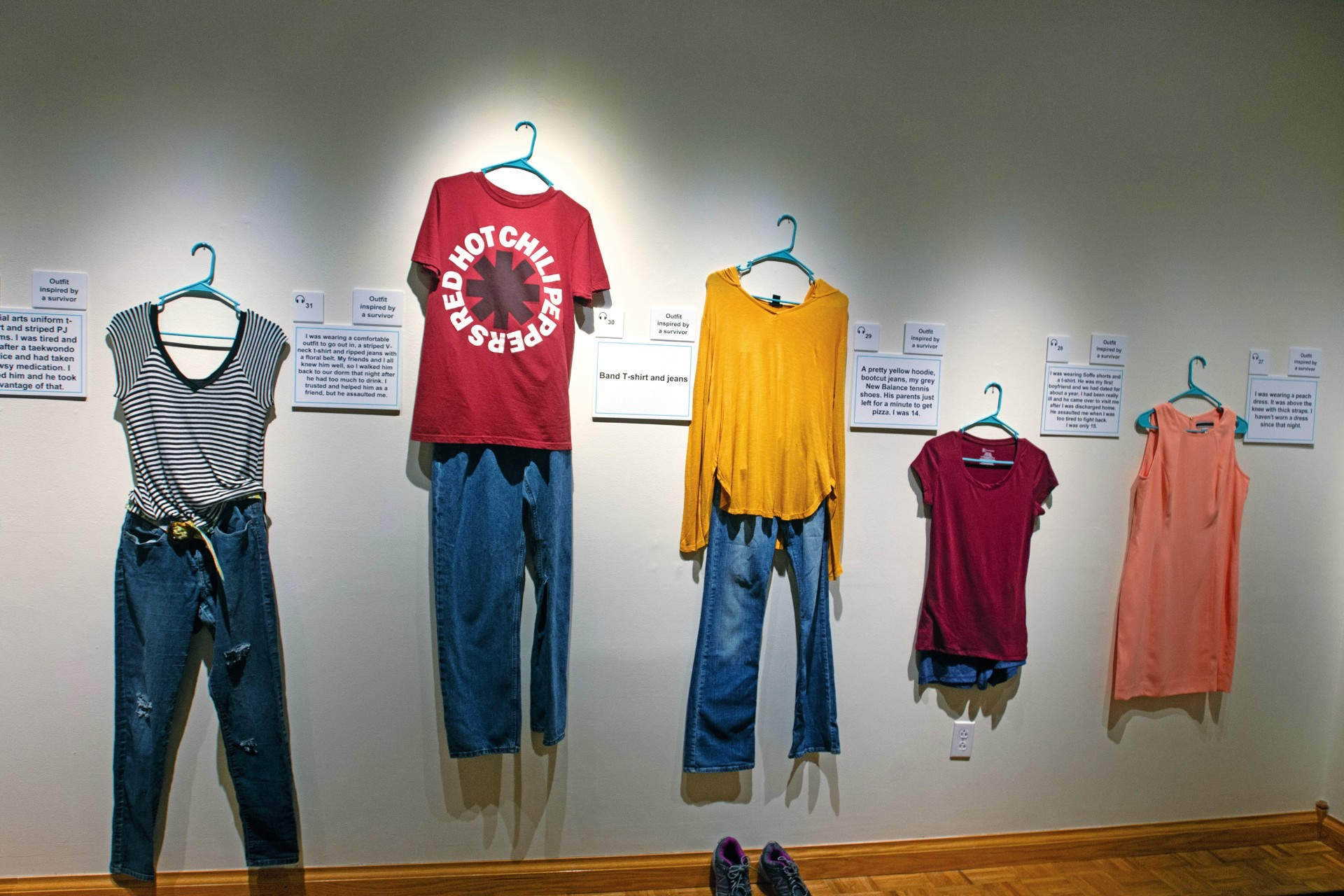 What Were You Wearing?': Art show focuses on sexual abuse survivors - The  Tribune | The Tribune