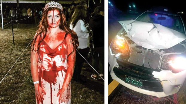 Halloween 2020 Mark Wolfe Accidentally famous   'Carrie' actress has accident in makeup
